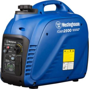 Westinghouse iGen - best RV generator size for RV without AC