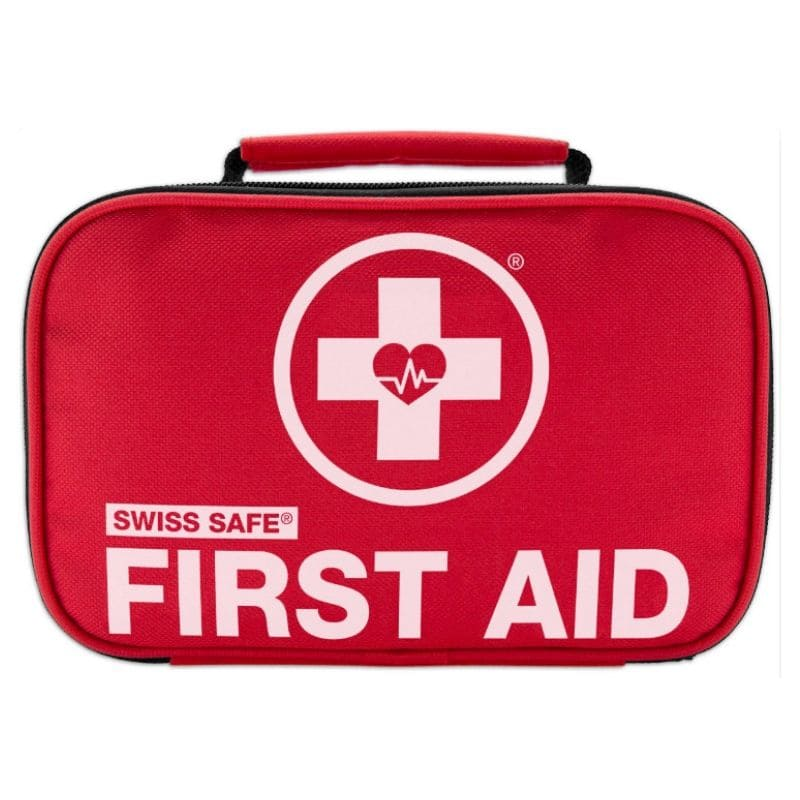 120 Piece First aid kit survival swiss safe