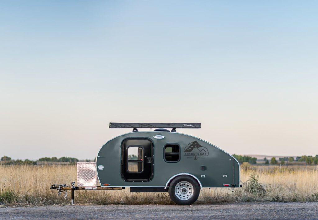 shell grey camper