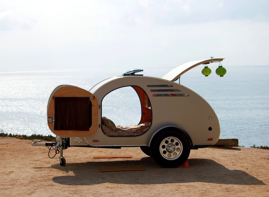 Teardrop trailer by oregon trail'r by the ocean
